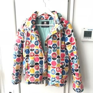 Paul Frank color dots down puffer jacket